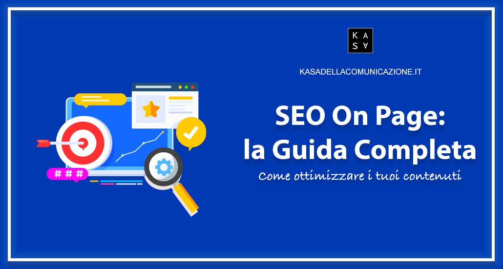 seo on page guida