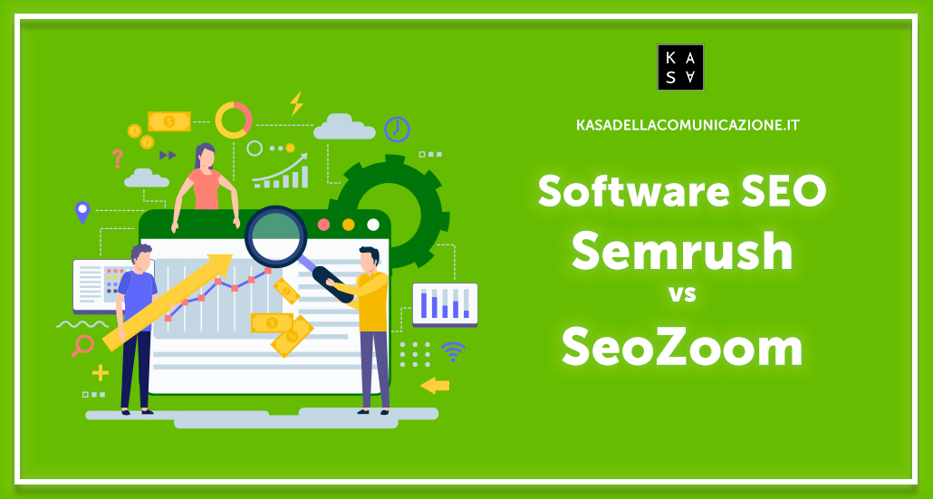 Semrush vs Seozoom: differenze tra i migliori software SEO