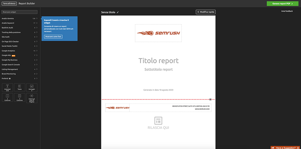 creare-report-su-semrush